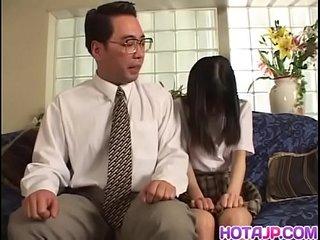 Tit Licking