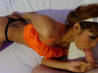 Massaging and Suck off